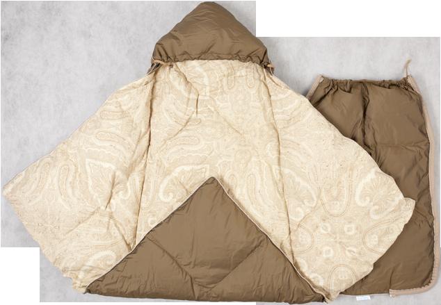 Зимнее одеяло для новорожденных своими руками