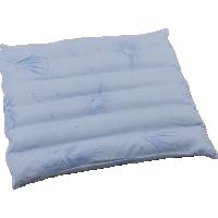 Подушка-сидение с меховым чехлом на молнии «Будь здоров», 45x45 см • Серафимовская пушинка