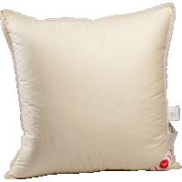 Пуховая подушка, упругая, «Приданое», 68x68 см • Серафимовская пушинка