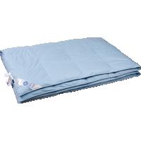 Всесезонное пуховое одеяло «Дуэт», 150х200 см • Серафимовская пушинка