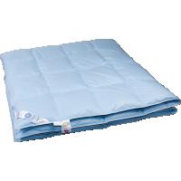 Всесезонное пуховое одеяло «Дуэт», 172x205 см • Серафимовская пушинка