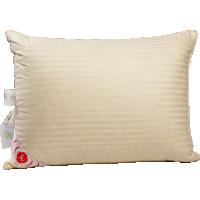 Пуховая подушка, упругая «Пушинка», 50x68 см • Серафимовская пушинка