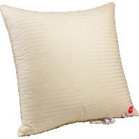 Пуховая подушка, упругая «Пушинка», 68x68 см • Серафимовская пушинка