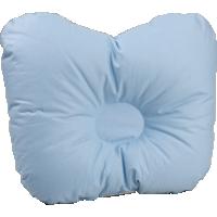 Детская ортопедическая пуховая подушка для новорожденного «Серый гусенок», 21x25 см • Серафимовская пушинка