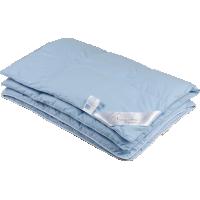 Детское пуховое одеяло «Серый гусенок», 118x118 см • Серафимовская пушинка