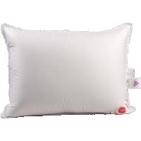 Пуховая подушка, мягкая «Лилия», 38x60 см • Серафимовская пушинка