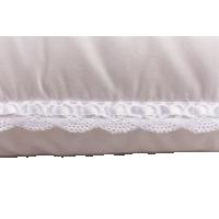 Пуховая подушка, мягкая «Лилия», 50x68 см • Серафимовская пушинка