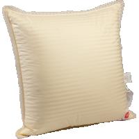 Пуховая подушка, мягкая «Ретро», 68x68 см • Серафимовская пушинка