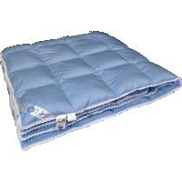 Всесезонное пуховое одеяло «Нежность», 150×200см • Серафимовская пушинка