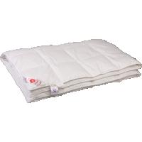 Облегченное пуховое одеяло «Виктория», 150x200 см • Серафимовская пушинка
