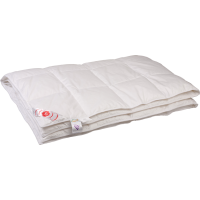 Облегченное пуховое одеяло «Виктория», 200x200 см • Серафимовская пушинка