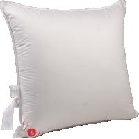 Пуховая подушка, упругая «Виктория», 68x68 см • Серафимовская пушинка