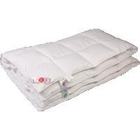 Теплое пуховое одеяло «Виктория», 150x200 см • Серафимовская пушинка