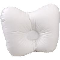 Детская ортопедическая пуховая подушка для новорожденного «Белый гусенок», 21x25 см • Серафимовская пушинка