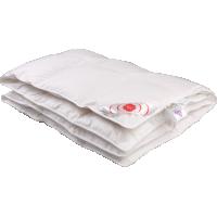 Детское пуховое одеяло «Белый гусенок», 110x140 см • Серафимовская пушинка